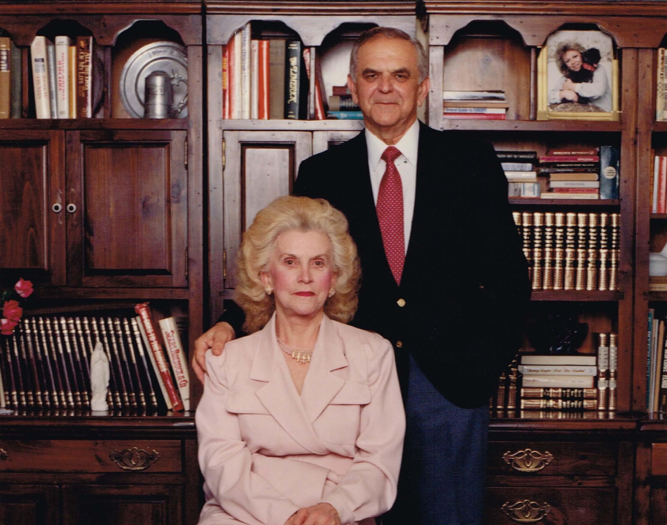 Our Founder, Joseph J. Walla and his wife Cecelia Walla